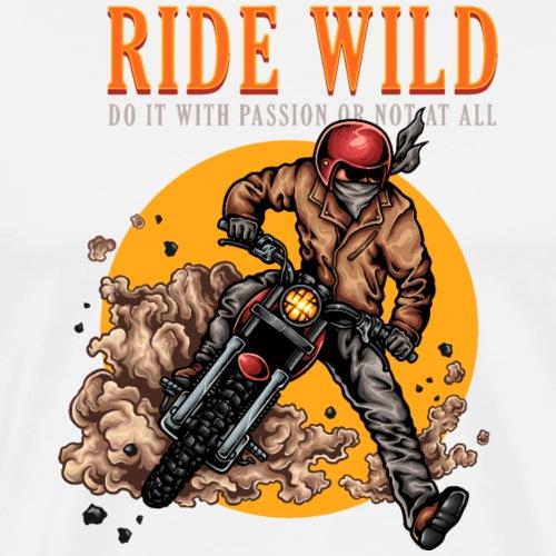 Fahrt wild - Männer Premium T-Shirt