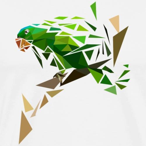 zerspringender Papagei