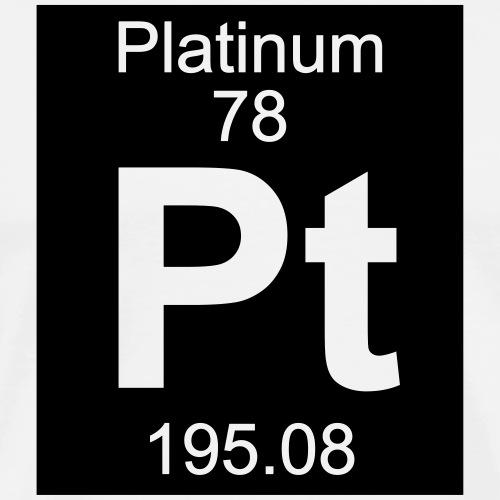Platinum (Pt) (element 78) - Men's Premium T-Shirt