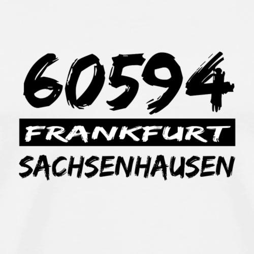 60594 Frankfurt Sachsenhausen - Männer Premium T-Shirt