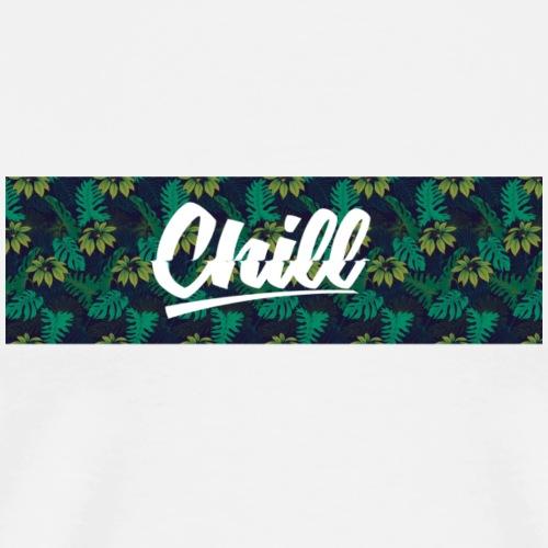 Chill # 4 - Premium T-skjorte for menn