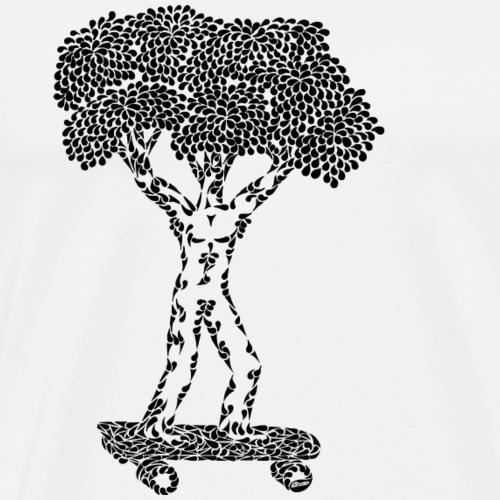 Skating tree - Mannen Premium T-shirt