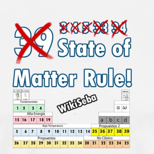 33 Estados de la Materia - Camiseta premium hombre
