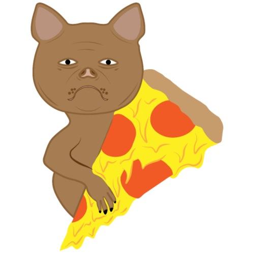 Dog Pizza - Männer Premium T-Shirt