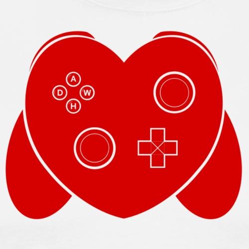 Love Of Gaming - Red - Men's Premium T-Shirt