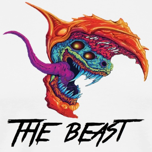 The Beast - Premium-T-shirt herr