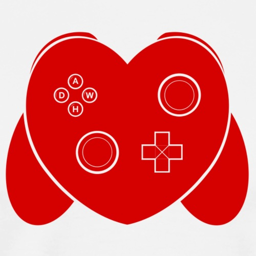 Love Of Gaming - Red - Men's Premium T-Shirt