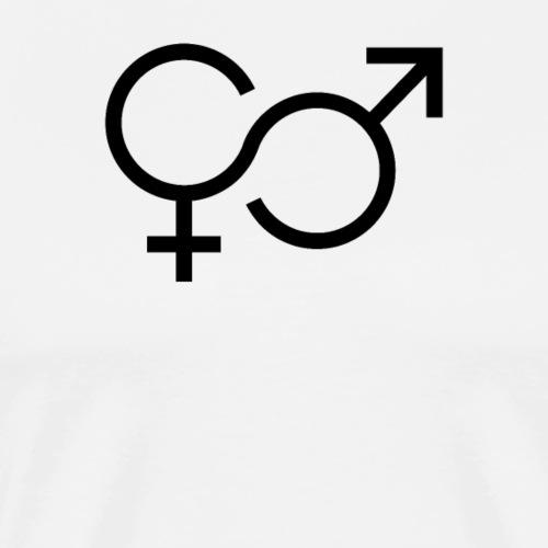 Mann und Frau - Männer Premium T-Shirt