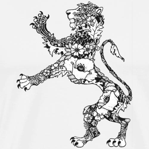 Wappen Löwe - Männer Premium T-Shirt
