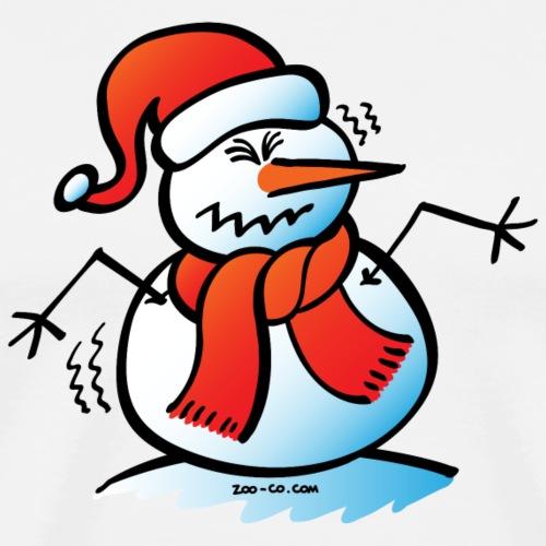 Shivering Snowman - Men's Premium T-Shirt