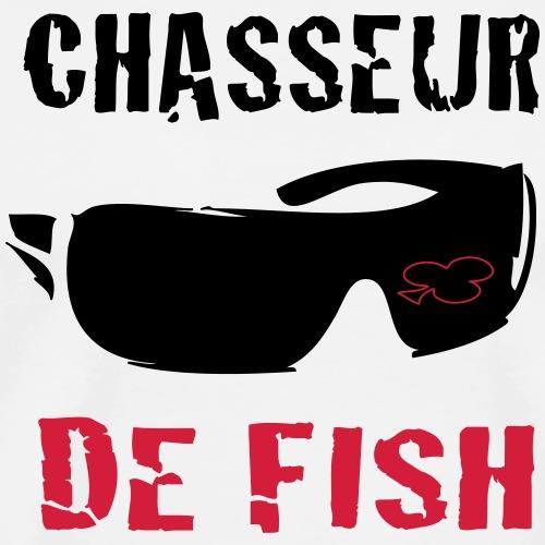 Chasseur de fish - T-shirt Premium Homme