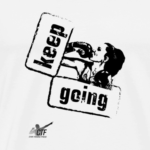 Keep going - Men's Premium T-Shirt