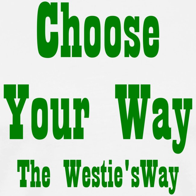 Choose Your Way Green