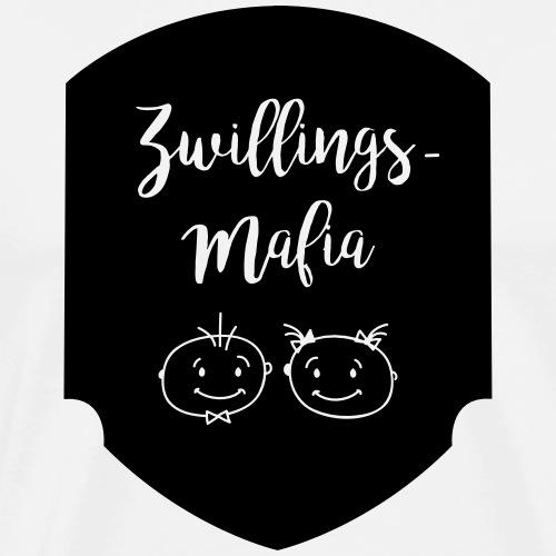 Zwillings-Mafia: Bub-Mäd - Männer Premium T-Shirt