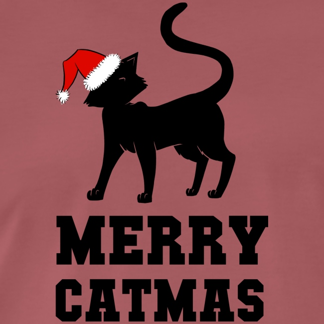 Merry Catmas - Silhouette