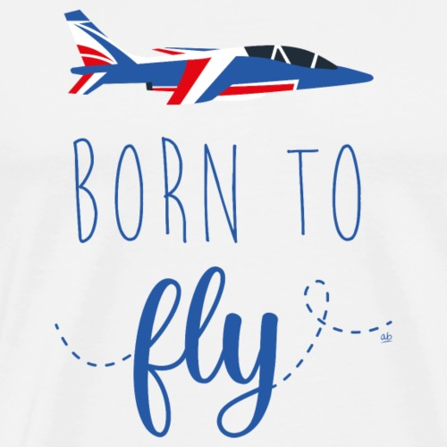 Born to fly - T-shirt Premium Homme