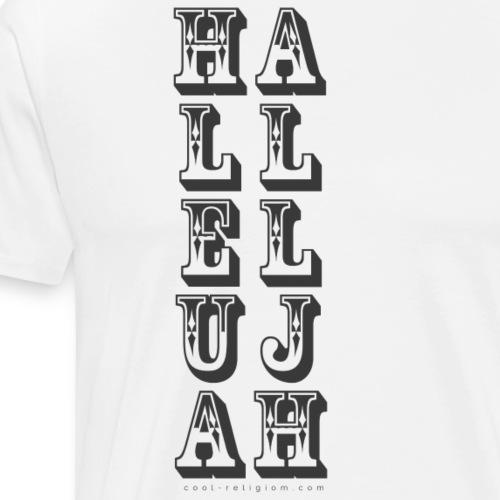Hallelujah Wild West - Men's Premium T-Shirt