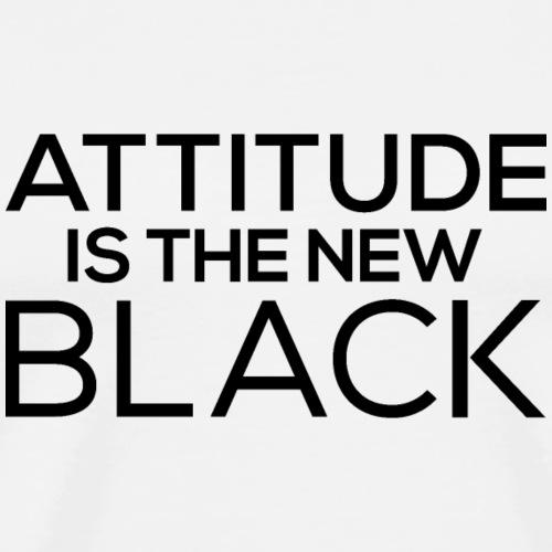 Attitude is the new black - Men's Premium T-Shirt