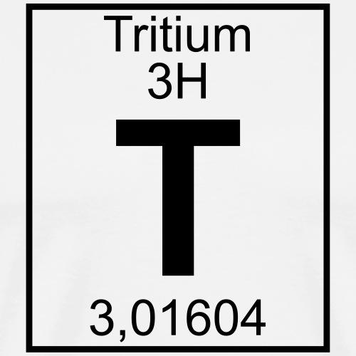 T (tritium) - Element 3H - pfll - Men's Premium T-Shirt