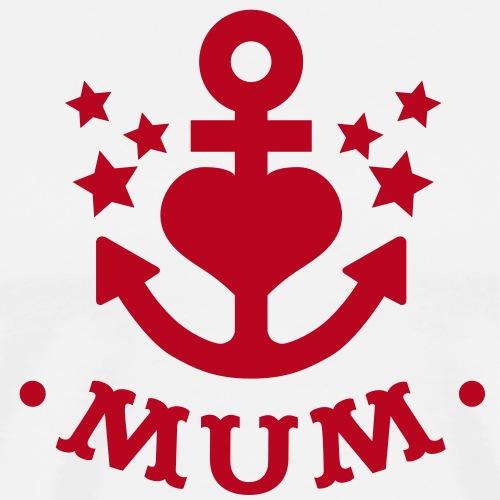 Anker Mummy - Männer Premium T-Shirt