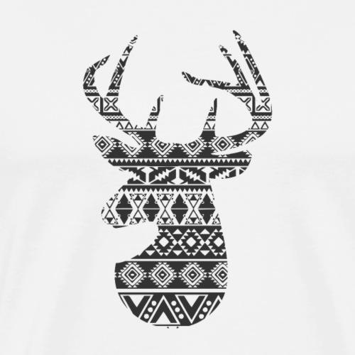 Cerf élaphe - T-shirt Premium Homme