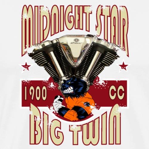 MidnightStar 01 - Mannen Premium T-shirt