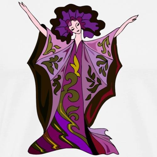 Bailarina: Queen of the night - Camiseta premium hombre