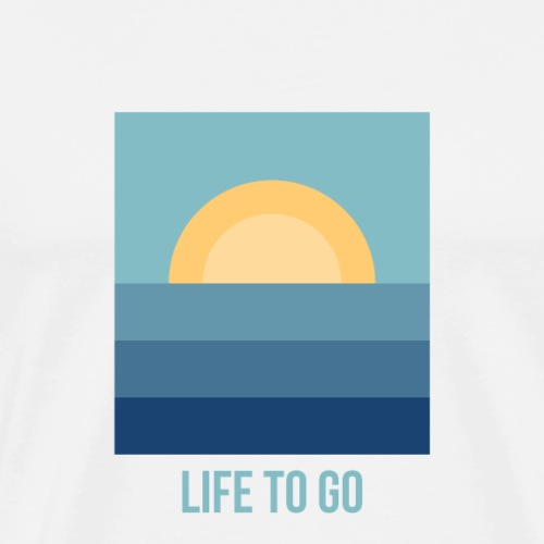 LIFE TO GO SUN - by Life to go - Männer Premium T-Shirt