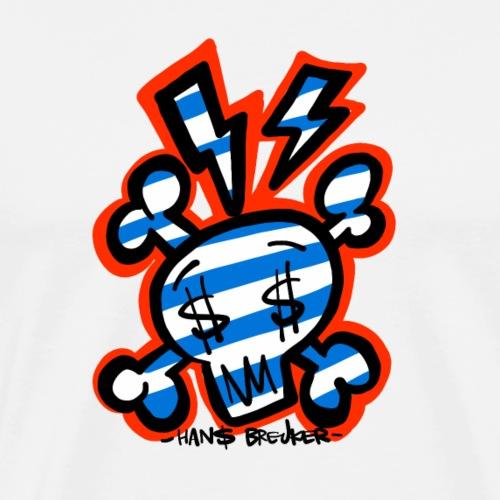 Pirate$ - Mannen Premium T-shirt