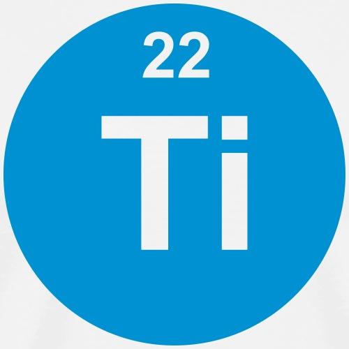 Titanium (Ti) (element 22) - Men's Premium T-Shirt