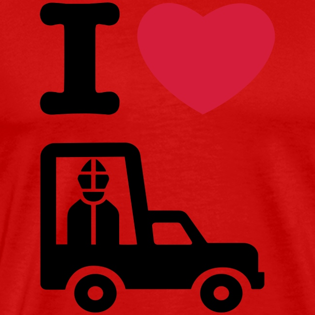 I LOVE THE POPEMOBILE