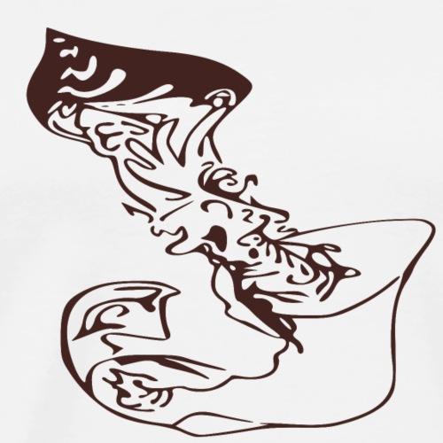 Tribal bomb - Maglietta Premium da uomo
