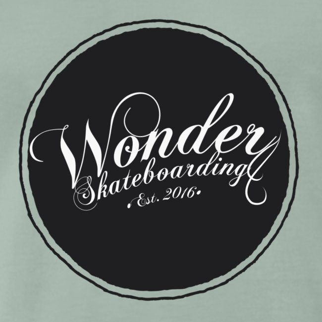 Wonder T-shirt - oldschool logo