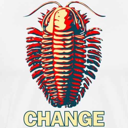 Trilobite Change - Men's Premium T-Shirt