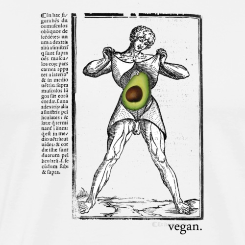 Flay Me, Avocado - Men's Premium T-Shirt