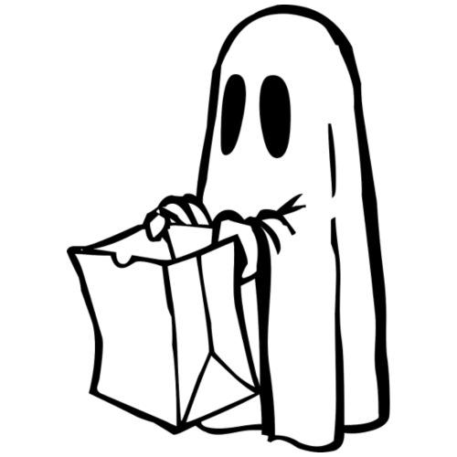 Geister-säckchen - Männer Premium T-Shirt