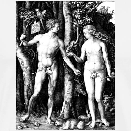 Dürers Adam & Eva - Männer Premium T-Shirt
