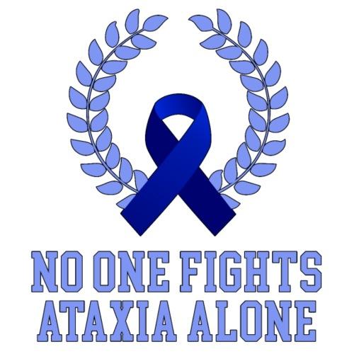 No One Fights Ataxia Alone - Maglietta Premium da uomo