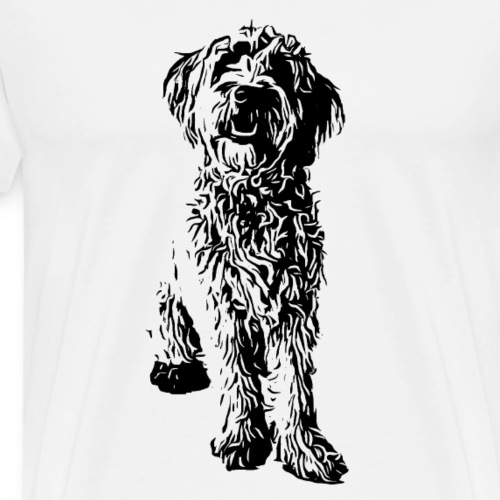 Golden Doodle Hunde Design Geschenkidee - Männer Premium T-Shirt