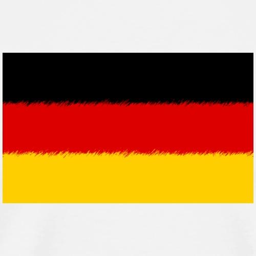 Deutschland - Germany Flag - Männer Premium T-Shirt
