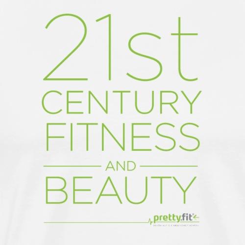 21st Century Fitness&Beauty grün - Männer Premium T-Shirt