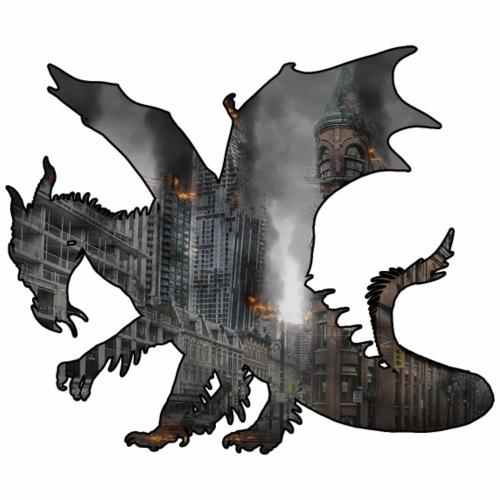 Le Dragon destructeur - J'peux pas j'ai Dragon - T-shirt Premium Homme