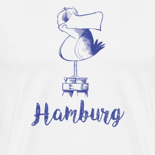 Hamburg Möwe - Männer Premium T-Shirt