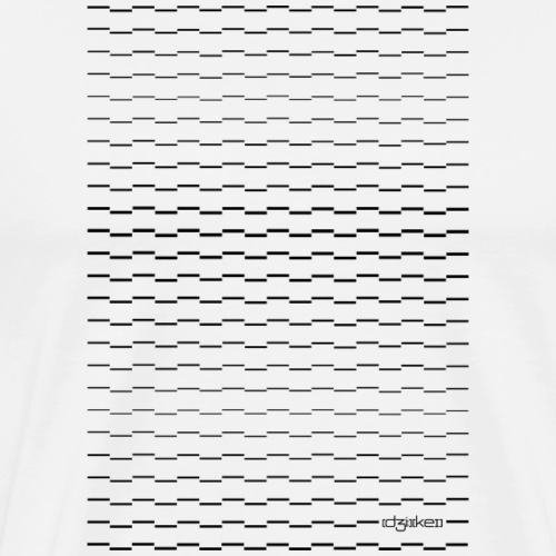 pattern - lines - Men's Premium T-Shirt