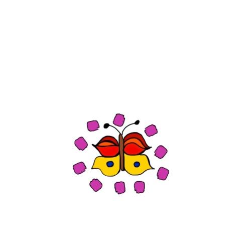 Butterfly colorful - Men's Premium T-Shirt