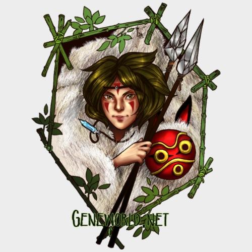 Geneworld - Mononoke - T-shirt Premium Homme