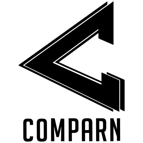 Youtube c0mparn's Logotype - Premium-T-shirt herr