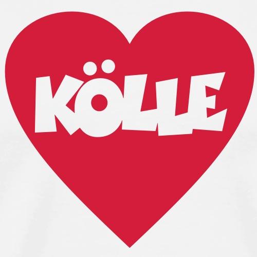 I Love Kölle - Ein Herz für Köln - Männer Premium T-Shirt