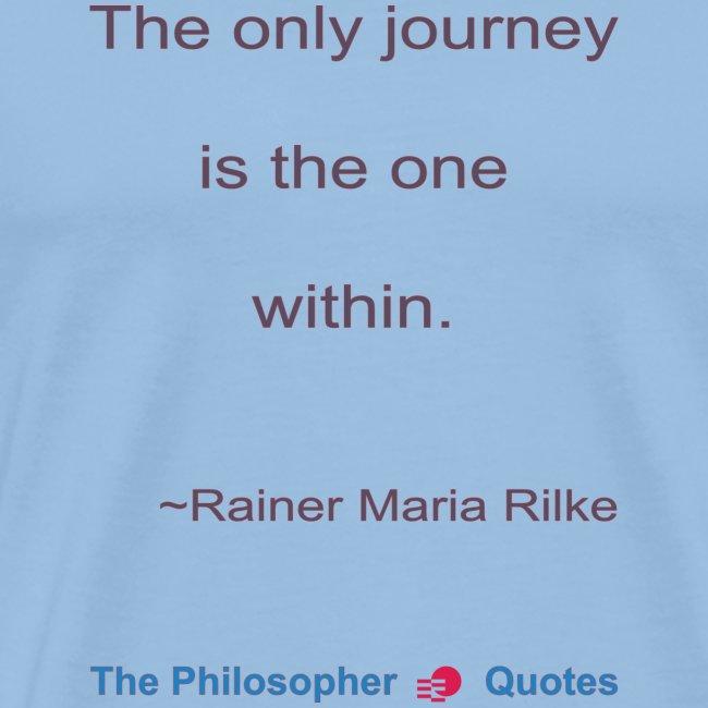 Rainer Maria Rilke The journey within Philosopher
