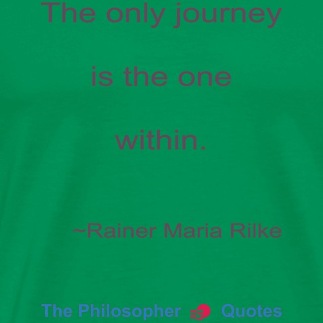 Rainer Maria Rilke The journey within Philosopher
